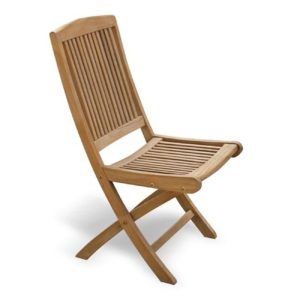 folding chair teak garden jepara furniture indonesia