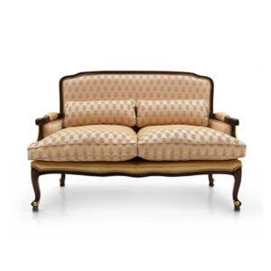 sofa 2 seaters Classic jepara furniture Indonesia