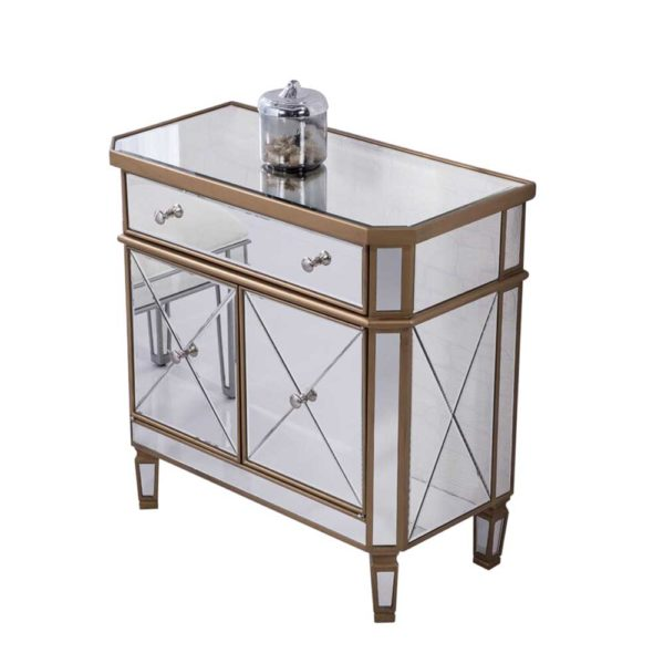 side table mirrored jepara furniture indonesia